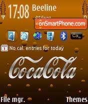 Coca Cola Default es el tema de pantalla