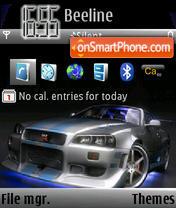 Nissan Skyline GTR 02 es el tema de pantalla