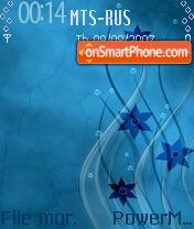Water 04 es el tema de pantalla