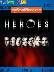 Heroes Tv Show es el tema de pantalla