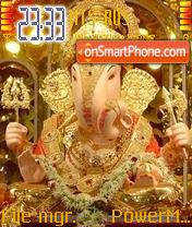 Ganapati theme screenshot