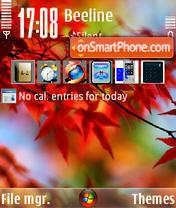 Autumn Vista theme screenshot