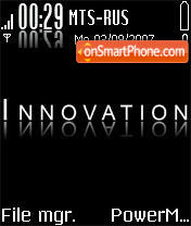 Innovation theme screenshot