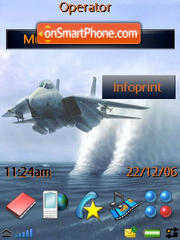 Airplane theme screenshot