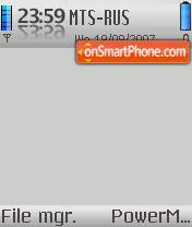 Ipod 01 theme screenshot