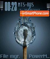 Ice Water Match es el tema de pantalla