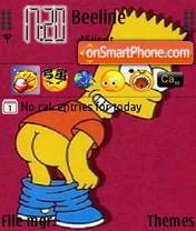 Bart Simpson 01 es el tema de pantalla