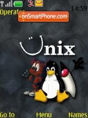 Linux 04 es el tema de pantalla