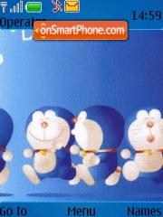 Doraemon 01 theme screenshot