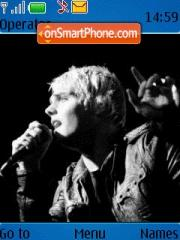 My Chemical Romance 01 theme screenshot