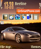 Aston Martin 03 theme screenshot