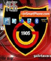 Galatasaray Sports Club es el tema de pantalla