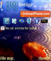 Autumn 05 theme screenshot