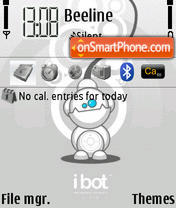 Ibot theme screenshot