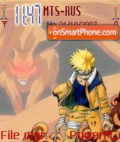 Kyubi Naruto theme screenshot
