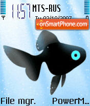 Animated Fish theme screenshot