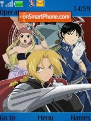 Fullmetal Alchemist theme screenshot