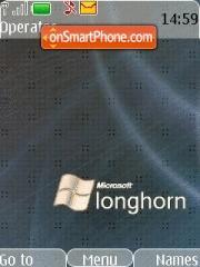 Longhorn Grey theme screenshot