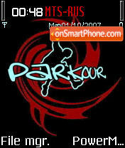 Parkour 02 theme screenshot