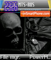 Morbid v1 theme screenshot