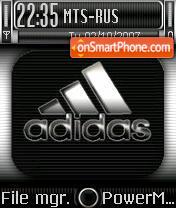 Adidas 12 theme screenshot