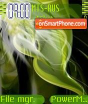 Green Vista theme screenshot