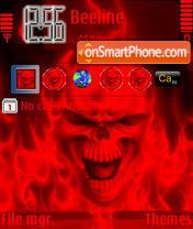Skull Red es el tema de pantalla