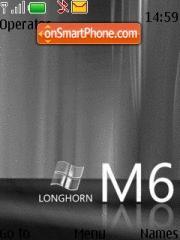 Longhorn Black theme screenshot
