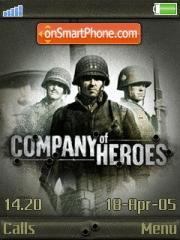 Company Of Heroes es el tema de pantalla