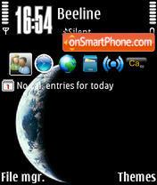 Earth v2 theme screenshot