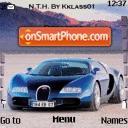 Bugatti Veyron 02 es el tema de pantalla