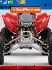 Honda Trx450er es el tema de pantalla