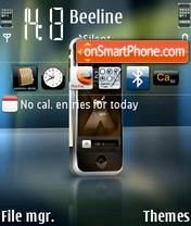Iphone Release theme screenshot