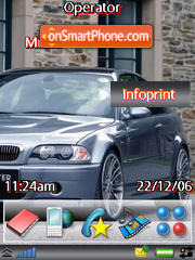 My BMW theme screenshot