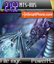 Dragon Lore theme screenshot
