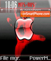 Apple 11 theme screenshot