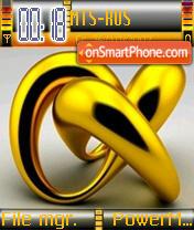 Gold theme screenshot