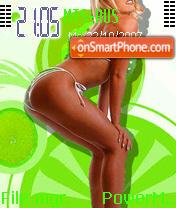 Yesil Bikini theme screenshot