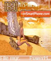 Angel of Sin theme screenshot
