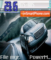 Lexus LS430 es el tema de pantalla