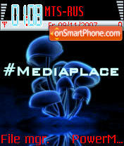 Mediaplace es el tema de pantalla