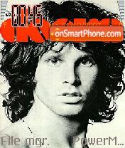 Jim Morrison es el tema de pantalla