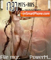 Fairy 12 theme screenshot