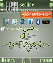 Narayan es el tema de pantalla