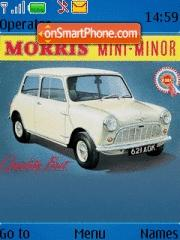 Morris Mini Minor es el tema de pantalla