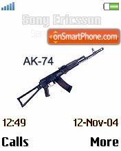 AK 74 theme screenshot