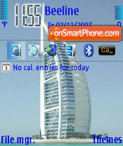 Burj Al Arab theme screenshot
