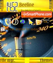 Speed es el tema de pantalla