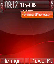 Scarlet theme screenshot