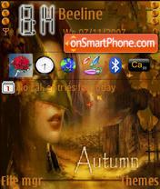 Autumn Fairy es el tema de pantalla
